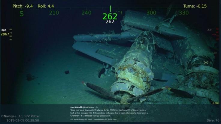 Miliardár objavil desaťročia stratenú lietadlovú loď USA