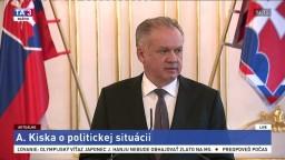 Vyhlásenie A. Kisku o aktuálnej politickej situácii