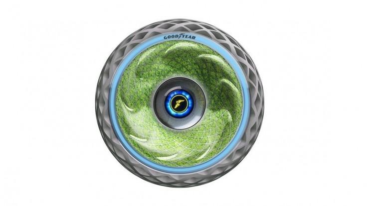 Koncept fotosyntetických pneumatík Oxygene pre čistejšiu mestskú mobilitu