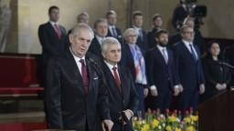 Zeman zložil sľub a stal sa prezidentom na ďalších päť rokov