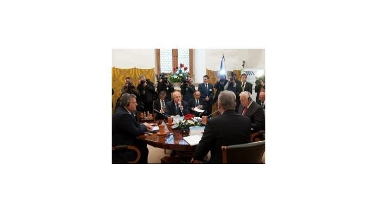 Na Štrbskom Plese skončilo rokovanie prezidentov V4