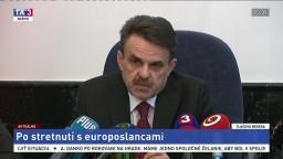 TB generálneho prokurátora J. Čižnára po stretnutí s europoslancami
