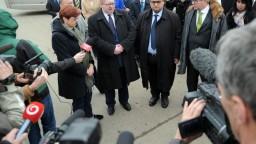Fotogaléria: Delegácia z europarlamentu prišla na miesto vraždy