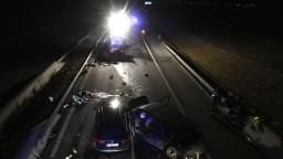 Smrteľná nehoda na D1: hromadná zrážka má najmenej dve obete