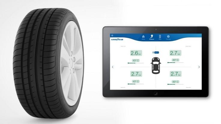 Goodyear prezentuje prototyp inteligentnej pneumatiky na ceste