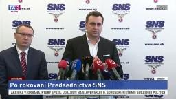TB SNS po rokovaní predsedníctva strany