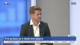 HOSŤ V ŠTÚDIU: J. Halbrštát o slovenskom trhu práce