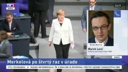 Politológ M. Lenč o znovuzvolení A. Merkelovej na post kancelárky