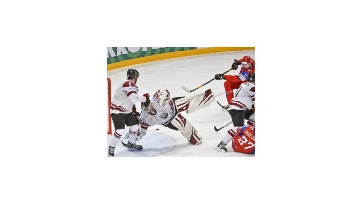 Rusko vstúpilo do šampionátu víťazstvom nad Lotyšskom