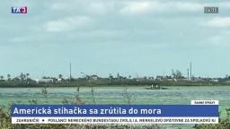 Americká stíhačka sa zrútila do vody, dvaja členovia posádky neprežili