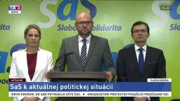 TB predstaviteľov SaS o aktuálnej politickej situácii
