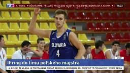 Slovenský basketbalista Ihring bude hrať za poľský Anwil Wloclawek