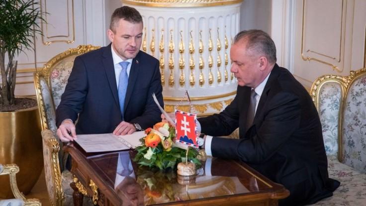 Vyhlásenie prezidenta Andreja Kisku po prijatí Petra Pellegriniho
