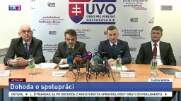 TB o dohode medzi ÚVO, NKÚ a generálnou prokuratúrou