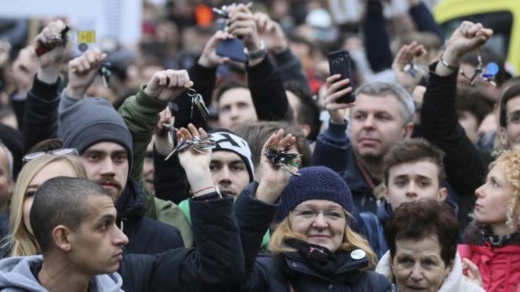 Odstúpenie premiéra vraj nestačí, Slovensko čaká ďalší protest