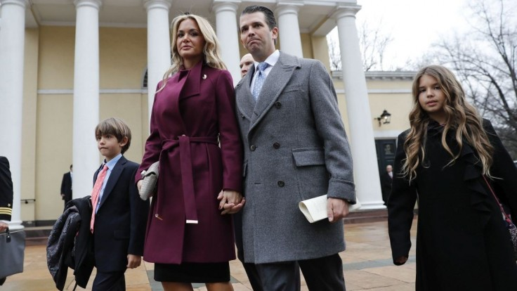 Trumpov syn sa po 12 rokoch rozvádza, so ženou majú 5 detí