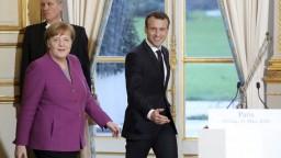 Macron sa stretol s Merkelovou, majú spoločnú víziu o budúcnosti EÚ
