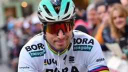 Sagan bol dlho členom vedúcej skupiny, víťazom sa však stal Nibali