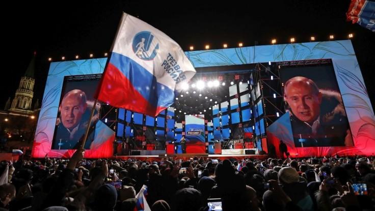 Putin sa poďakoval svojim priaznivcom, vyzval na jednotu národa