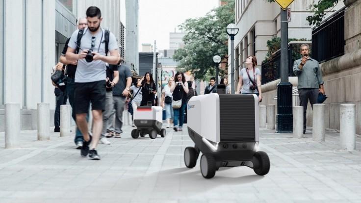 Roboty Eliport fungujú ako plne autonómna donášková služba