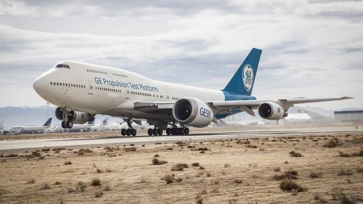 Najväčší prúdový motor na svete GE9X má za sebou prvý let