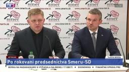TB po rokovaní predsedníctva strany Smer-SD