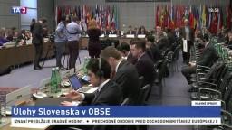 Vo Viedni predstavili hlavné úlohy Slovenska v OBSE