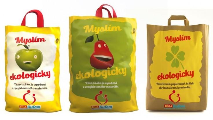 BILLA Slovensko zavádza nové ekologickejšie tašky