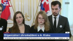 TB A. Kisku po stretnutí so zástupcami iniciatívy Za slušné Slovensko