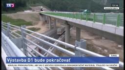 Na prerušený diaľničný úsek pri Ružomberku prídu opäť stroje