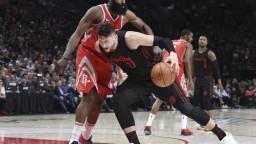 Houston Rockets v Portlande nezaváhal, je na čele celej NBA