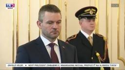Vymenovanie Petra Pellegriniho za premiéra
