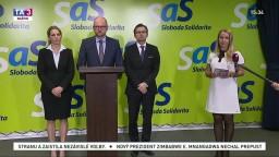 TB členov SaS, ktorí reagovali na vymenovanie novej vlády
