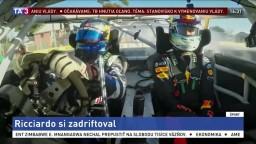 Fanúšikovia sa môžu tešiť, Ricciardo trénuje driftovanie