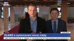 TB členov OĽaNO, ktorí reagovali na vymenovanie novej vlády