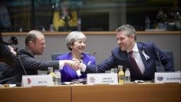 Pellegrini na summite v Bruseli: Vraždu Kuciaka objasníme