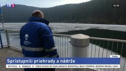 Vodohospodári sprístupnili verejnosti priehrady a nádrže