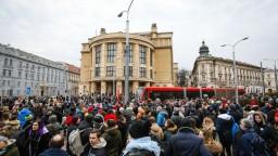 Fotogaléria: Ľudia vo viacerých mestách demonštrovali za lepšie Slovensko
