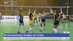 Volejbalistky Štrabagu zvíťazili nad Kežmarkom, postúpili do finále