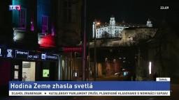 Slovensko sa zapojilo do Hodiny Zeme, pamiatky sa ocitli v tme