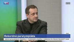 HOSŤ V ŠTÚDIU: J. Riapoš o paralympiáde