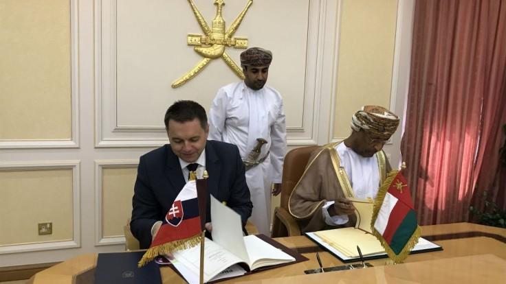Kažimír navštívil Ománsky sultanát, o Slovensko je záujem