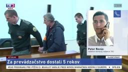 P. Revús o treste za prevádzačstvo pre tureckých kamionistov