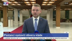 Pellegrini predstavil prvé kroky po vyslovení dôvery vláde