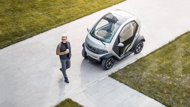 Elektromobil Eli Zero je ako stvorený na krátke jazdy v susedstve