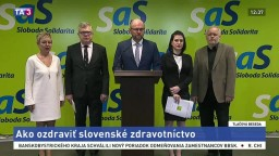 TB členov SaS o ozdravení slovenského zdravotníctva