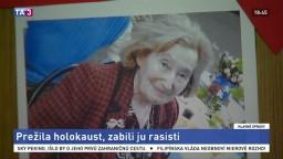 Zabili ženu, ktorá prežila holokaust. Šlo o útok z nenávisti