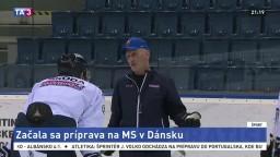 M. Šatan o príprave reprezentácie na majstrovstvá v Dánsku