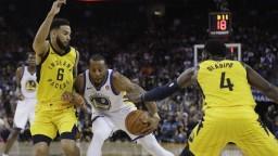 NBA: Šampióni Golden State bez svojich opôr padajú, nestačili na Indianu