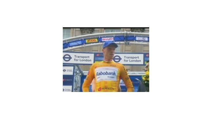 Víťazom cyklistických pretekov Okolo V. Británie Holanďan Boom